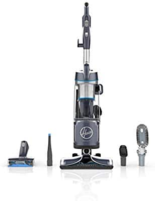 Hoover React Powered Reach Plus Bagless Upright Vacuum Cleaner